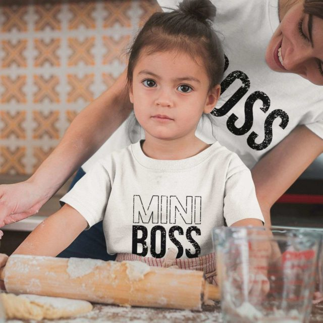 Boss Mini Boss Shirts, Mother & Kid Shirts, Mother's Day Gift