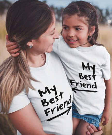My Best Friend Family Shirts, Matching Family Shirts, Funny Family Outfit
