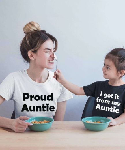 I got if from my Auntie Shirt, Proud Auntie, Family Shirts, Gift for Aunt