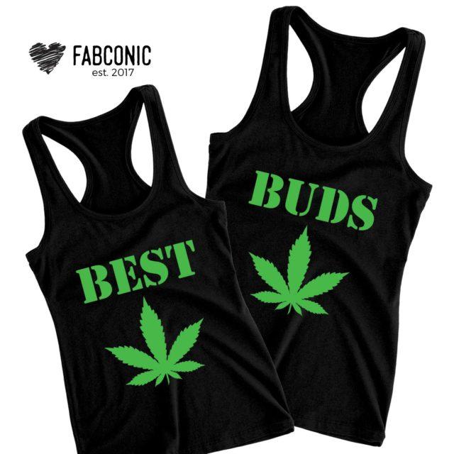 Best Buds Tanks, Best Friends Tank Tops, Best Friend Gift
