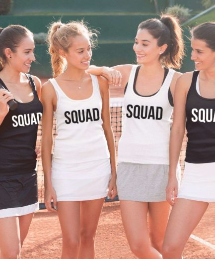 Squad Best Friends Tanks, Best Friends Tank Tops