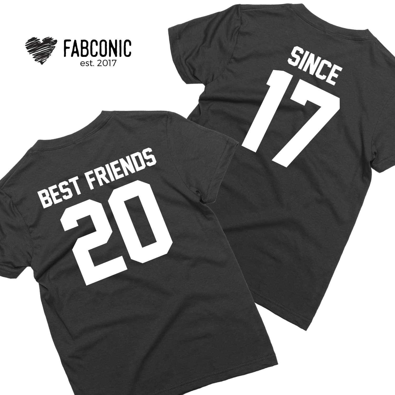 2f45697d Best Friends Since Shirts, Best Friends Shirts, Best Friend Matching Shirts,  Custom Shirts