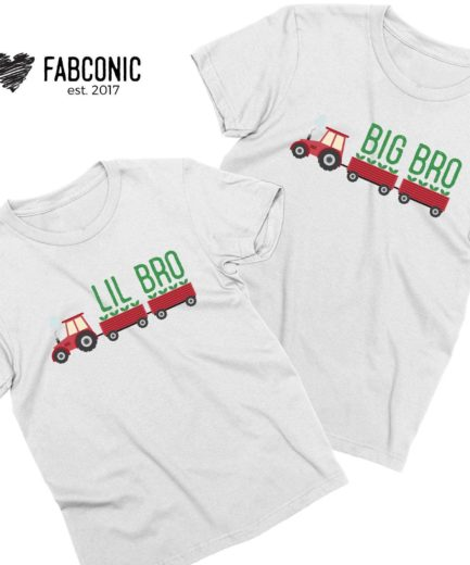 Big Sis Lil Bro Shirts, Truck, Big Bro Lil Sis Shirts, Siblings Matching Shirts
