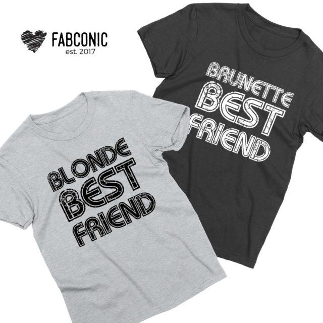 Blonde Brunette BFF Shirts, Blonde Best Friend Brunette Best Friend, Best Friends Shirts