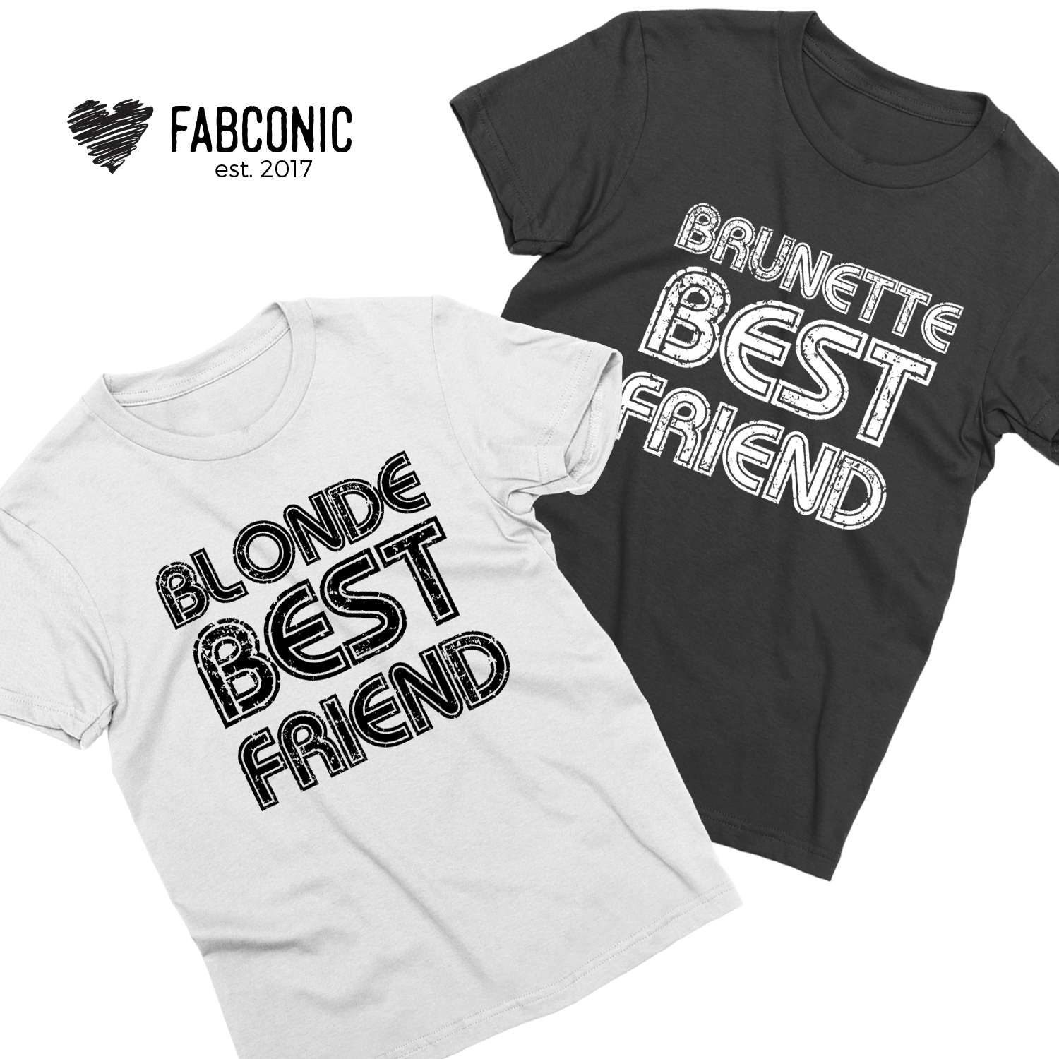 shirts Blonde friend brunette best