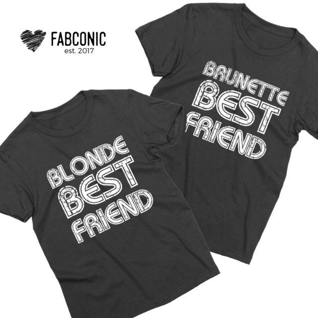 Blonde Best Friend Brunette Best Friend, Best Friends Matching Shirts