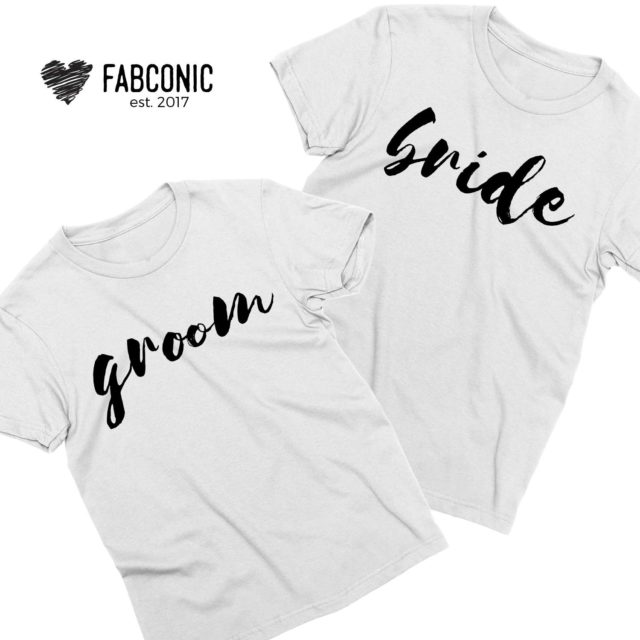 Anniversary Shirts, Bride and Groom, Couple Shirts, Couples Gift