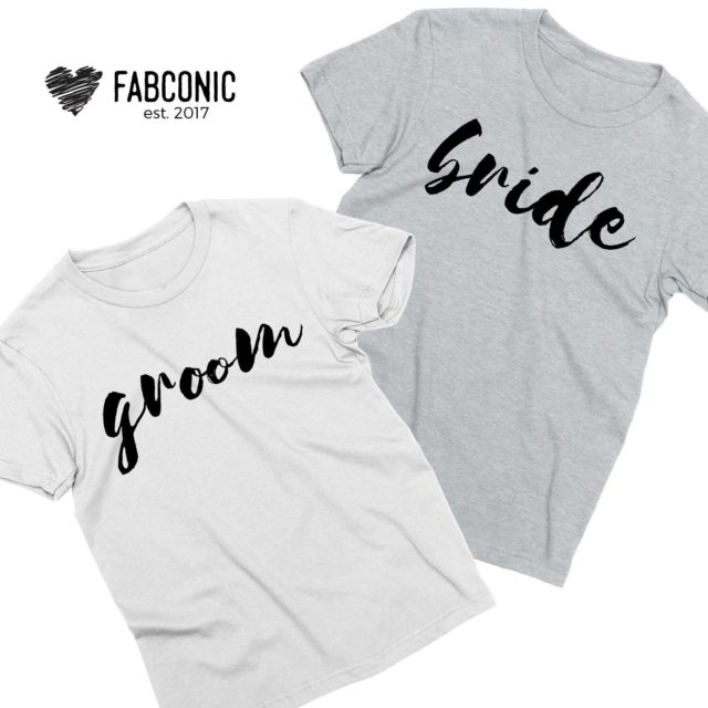 Anniversary Shirts, Bride and Groom, Couple Shirts