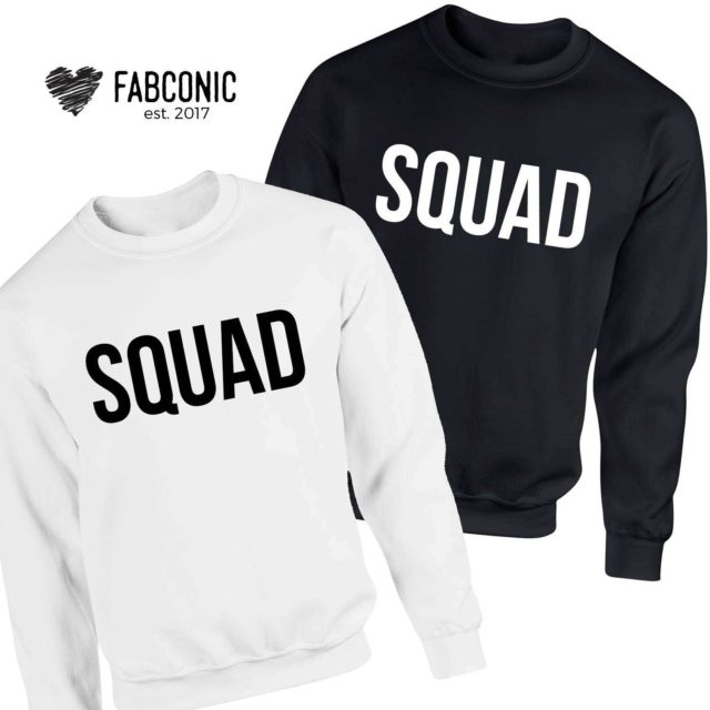 Squad Family Sweatshirts, Matching Sweatshirts, Squad Outfit, Gift for Family