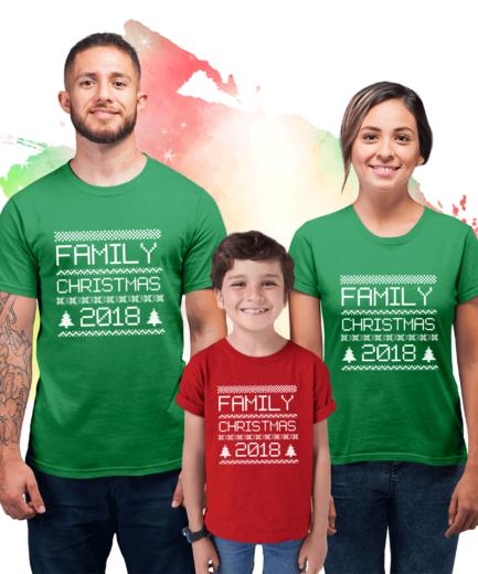Matching Christmas Shirts, Family Shirts, Custom Year Shirts
