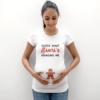 Christmas Pregnancy Shirt, Guess what Santa's Bringing Me