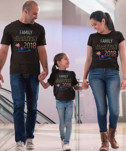 Matching Vacation Shirts, Custom Year, Family Shirts