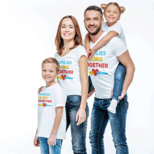 Keep Families Together Shirt, Protest Family Shirts, Matching Shirts