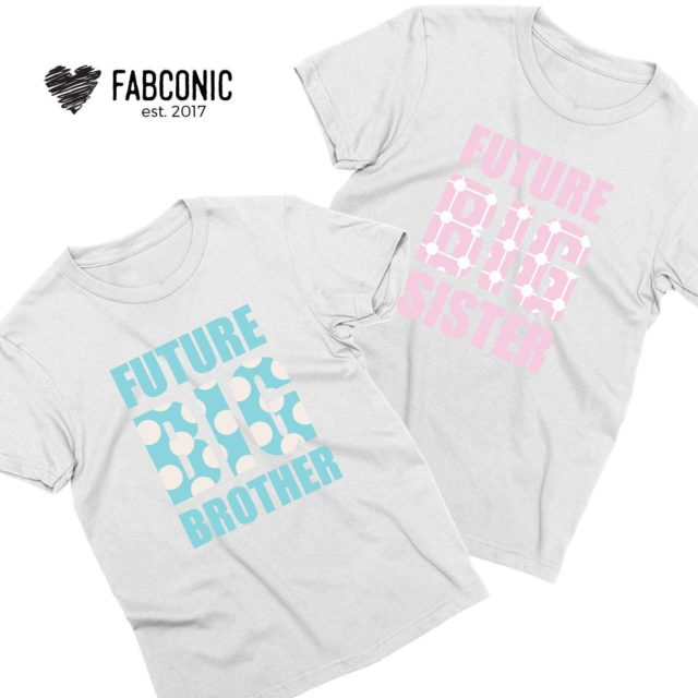 Future Big Brother, Future Big Sister, Baby Announcement, Family Shirts