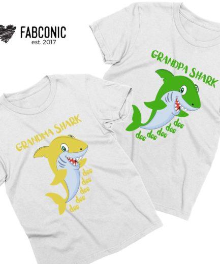 Daddy Shark Baby Shark Shirts, Mommy Shark, Family Shirts