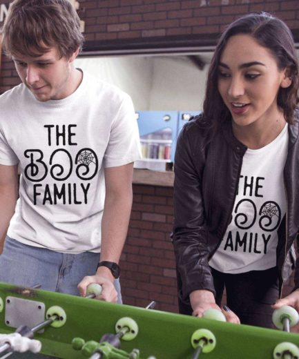 Halloween Shirt Ideas, The Boo Family, Halloween Couple Shirts