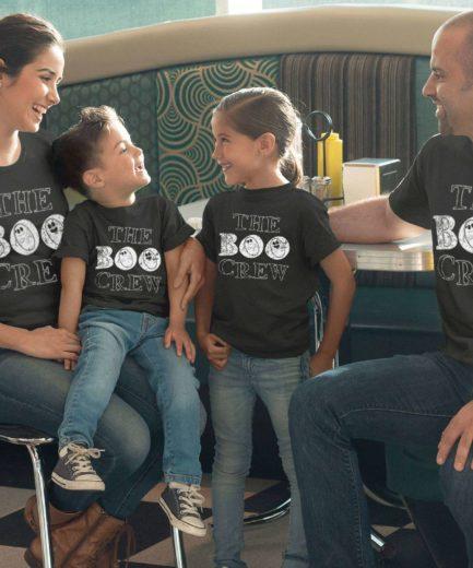 The Boo Crew Matching Shirts, Family Shirts, Funny Halloween Shirts