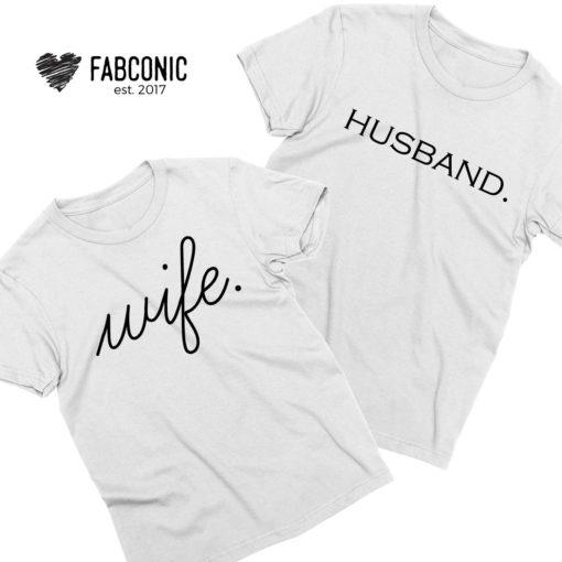 Husband Wife Shirts, Couple Shirts, Anniversary Shirts