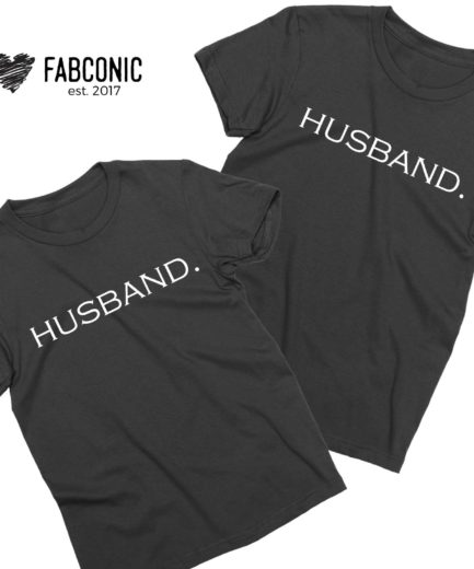 Matching Husband Shirts, Husband and Husband, Couple Shirts