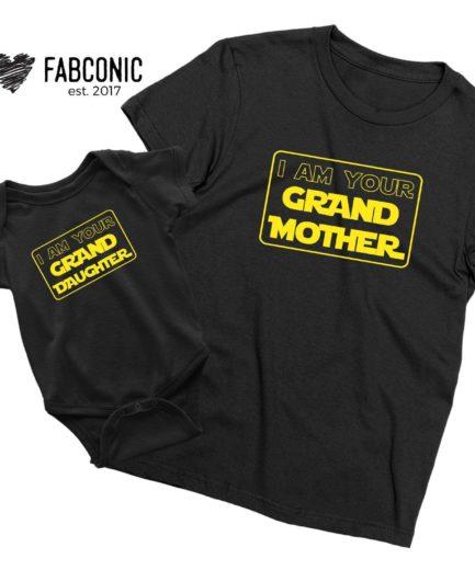 Grandma Granddaughter Shirts, I am Your Grandmother, Your Granddaughter