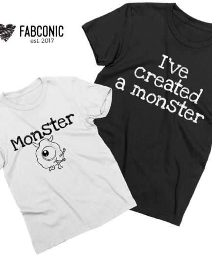 I've Created a Monster Shirt, Monster, Halloween Family Shirts