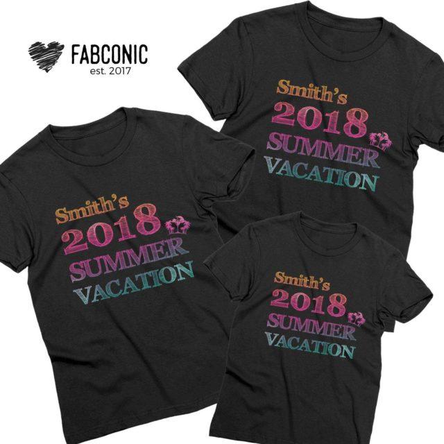 Custom Vacation Family Shirts, Custom Shirts, Family Shirts