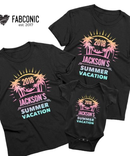 Mommy Daddy Baby Vacation Shirts, Custom Shirts, Family Shirts