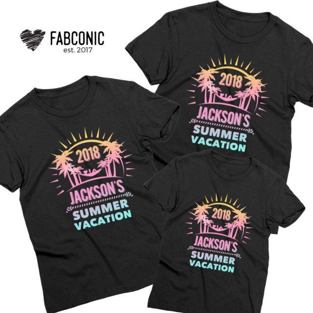 Mommy Daddy Baby Vacation Shirts, Custom Shirts, Family Shirts