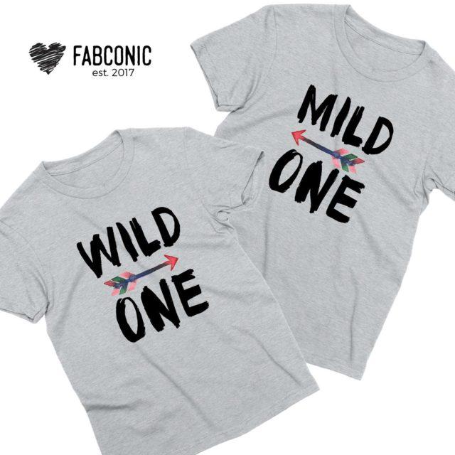 Mild One Wild One Best Friends Shirts, Matching Best Friends