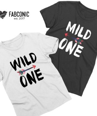 Mild One Wild One Best Friends Shirts, Matching Best Friends
