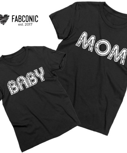 Mom Baby Shirts, Mommy and Me, Mother's Day Shirts