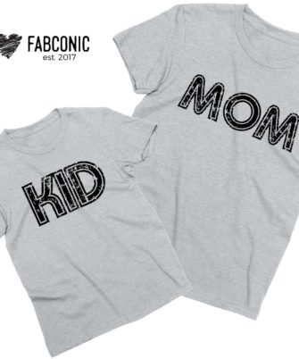 Mom Kid Shirts, Mommy and Me, Mother's Day Shirts