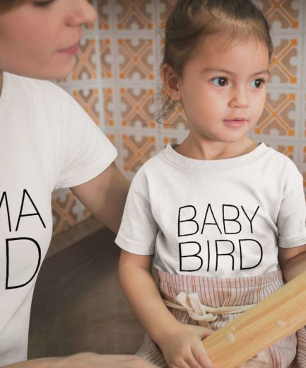 Mama Bird Baby Bird Shirts, Mother & Kid Shirts, Matching Shirts