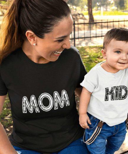 Mom Kid Shirts, Matching Mother & Kid Shirts, Mother's Day Shirts