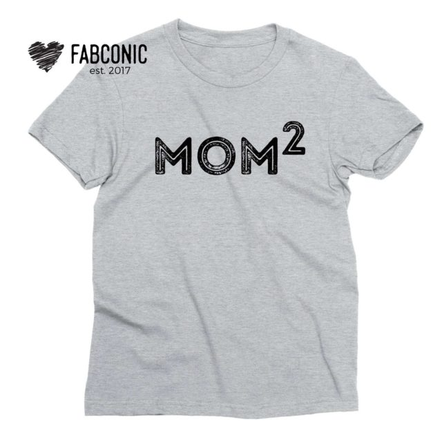Mom of 2 Shirt, Mother's Day Gift, Mom Shirt, Family Shirts