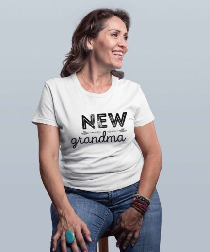 New Grandma Shirt, Grandparents Shirts, Gift for Grandma