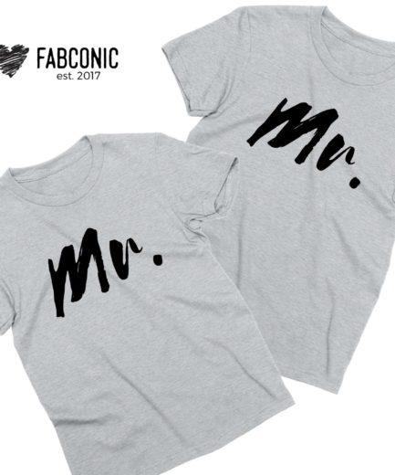 Mr Mr Shirts, Couple Shirts, Matching LGBT Shirts