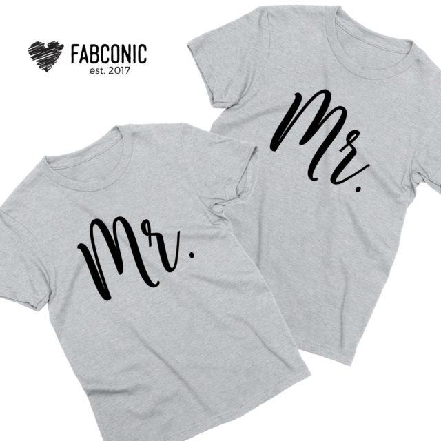 Mr Mr Gay Shirts, LGBT Couple Shirts, Matching Couple