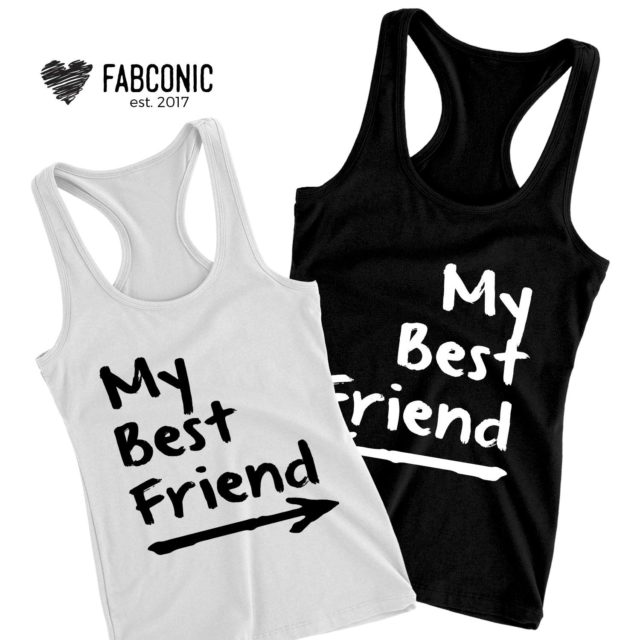 My Best Friend Tanks, Matching Best Friends Tank Tops