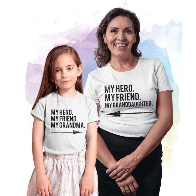Grandma Gift, My Hero My Friend My Grandma, My Granddaughter