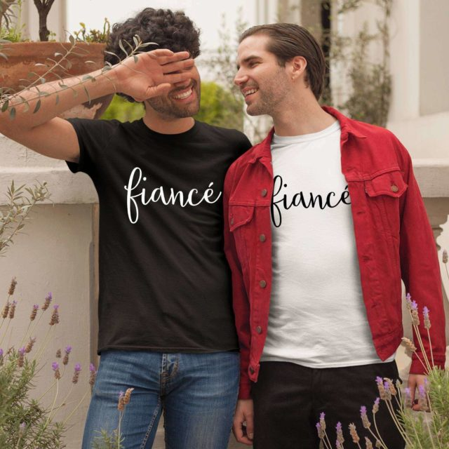 Fiance Fiance Shirts, Matching LGBT Couple Shirts