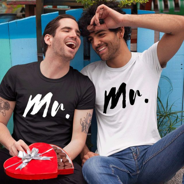 Mr Mr Shirts, Couple Shirts, Matching LGBT Shirts