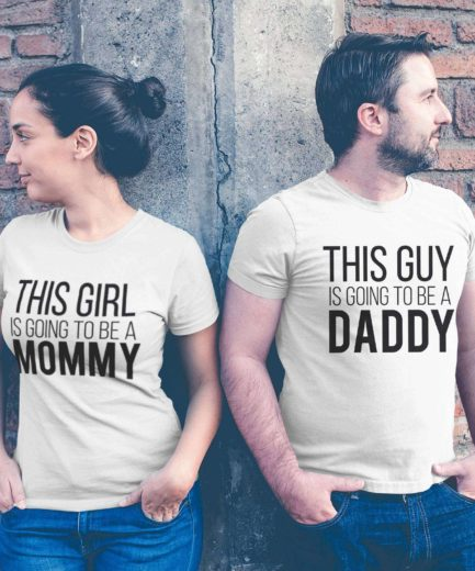 Pregnancy Couples Shirts, This Guy is Going to be a Daddy