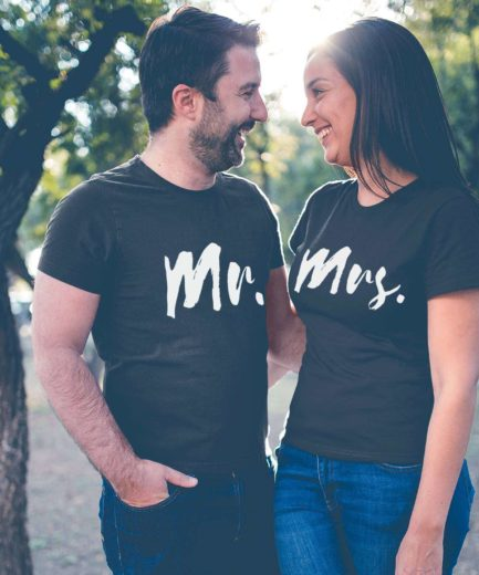 Mr and Mrs Honeymoon Shirts, Couple Shirts, Honeymoon Outfit for Couples