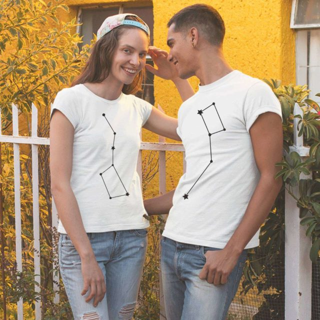 Big Dipper Little Dipper Shirts, Couple Shirts, Couple gift idea