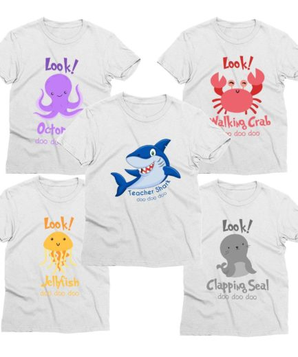 Gift for Teacher, Teacher Shark, Teacher Shirt, Back to School Shirt