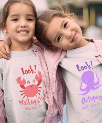 Siblings Birthday Party Shirts, Baby Shark Shirts, Siblings Shirts