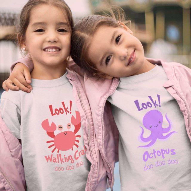 Siblings Birthday Party Shirts, Baby Shark Shirts, Siblings Shirts