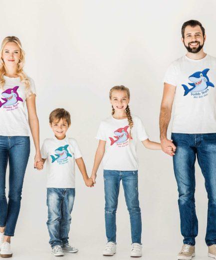 Birthday Shark Shirts, Sharks Family Birthday Party, Siblings Shirts