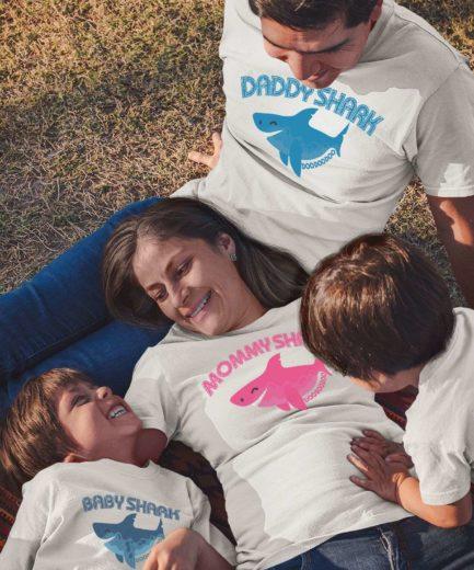Daddy Shark Mommy Shark Shirts, Baby Shark, Family Shirts